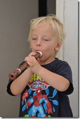 Joni and recorder