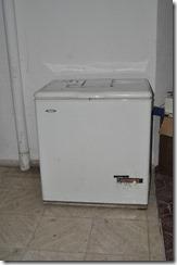 White freezer