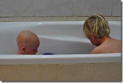 Bath being tested