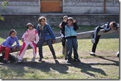 kids on see-saw