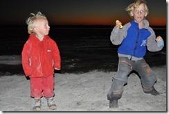 kids playing at Miramar