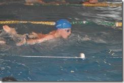Joni swimming
