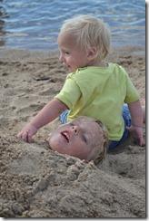 Joni and Danny on beach