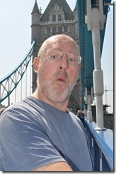 Martin on tower bridge