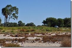 Deserted shore line