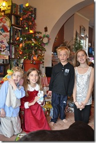 Christmas with cousins