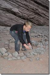 rearranging the stones