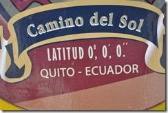 Latitude 0-0-0 sign