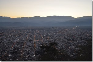 view over Salta
