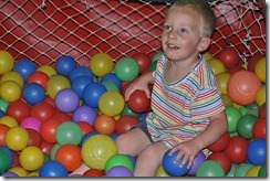Danny in ball pool