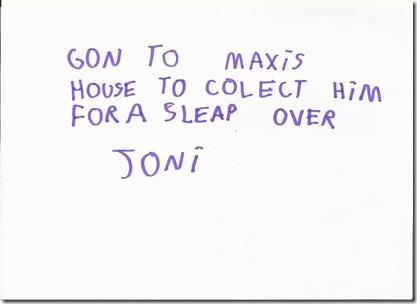 Joni note