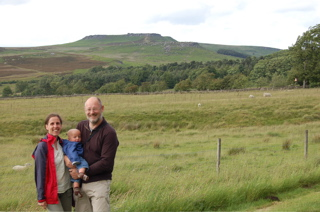 Us in the Peak District
