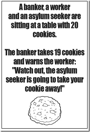 bankers and cookies