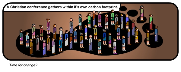Christian conference carbon footprint