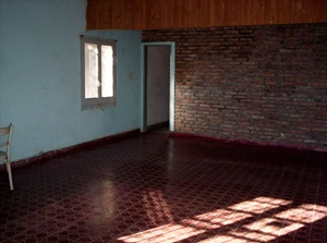 empty room in Quebracho