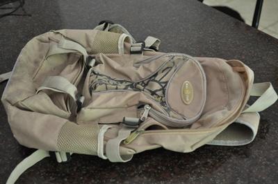 Hazel's rucksack