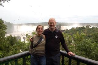 Us at Iguazu